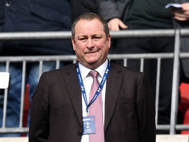 Mike Ashley,Lee Charnley