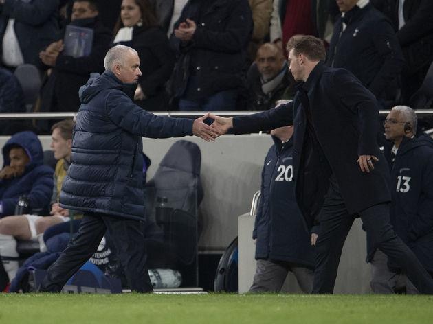 Jose Mourinho,Julian Nagelsmann