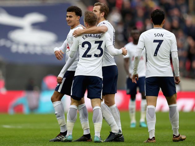 Heung-Min Son,Christian Eriksen,Harry Kane