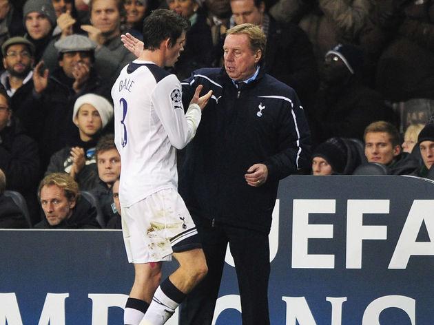 Harry Redknapp,Gareth Bale