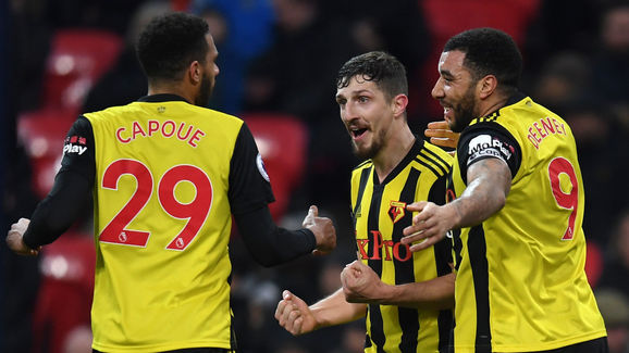 Craig Cathcart,Etienne Capoue,Troy Deeney