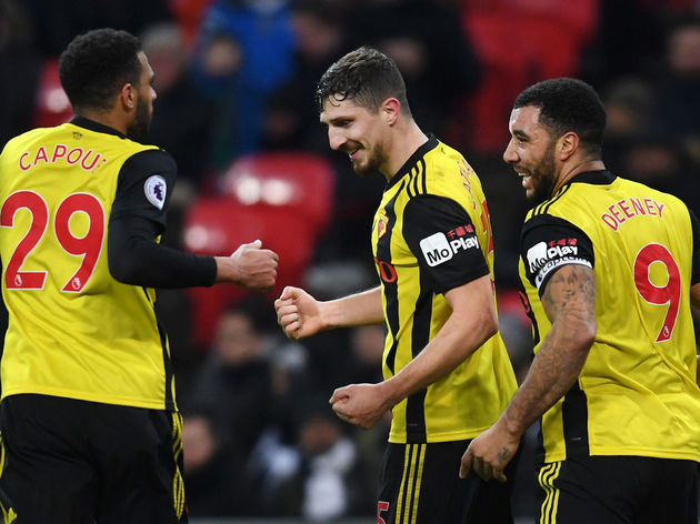 Troy Deeney,Etienne Capoue,Craig Cathcart