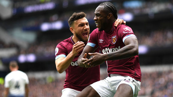 Michail Antonio,Robert Snodgrass