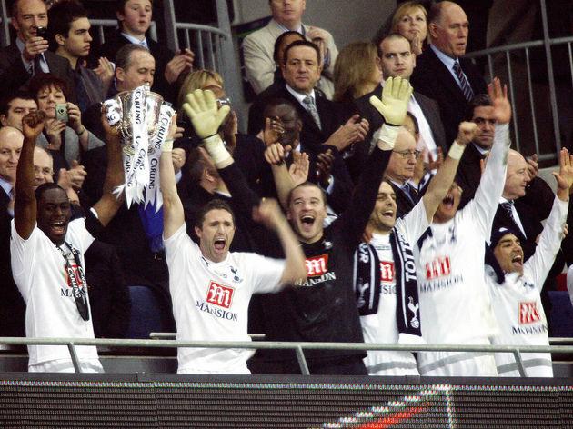 Tottenham Hotspurs' Irish striker Robbie