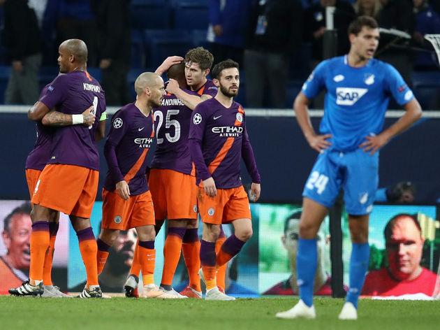 TSG 1899 Hoffenheim v Manchester City - UEFA Champions League Group F