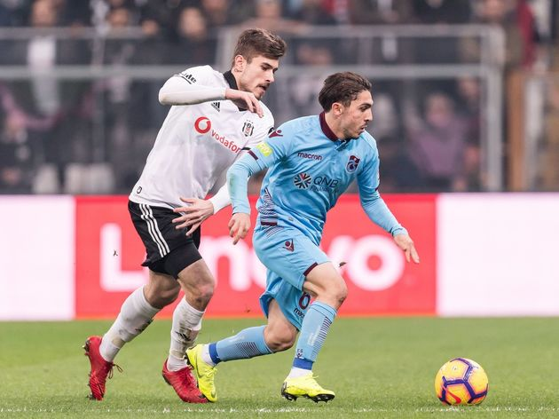 Turkish Spor Toto Super Lig'Besiktas AS v Trabzonspor AS'