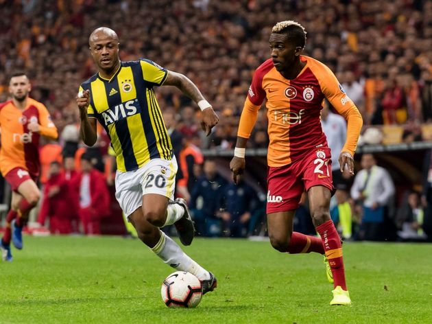 Turkish Spor Toto Super Lig'Galatasaray AS v Fenerbahce AS'