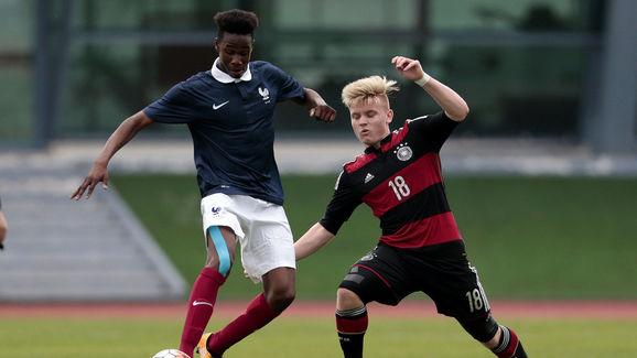 U16 France v U16 Germany  - UEFA Tournament