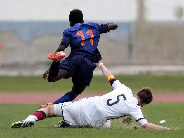 U16 Germany v U16 Netherlands - U16 UEFA Development Tournament
