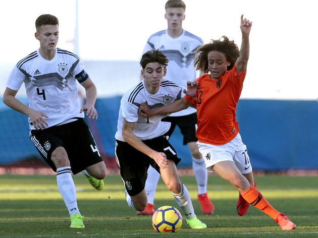 U16 Netherlands v U16 Germany - Algarve Cup
