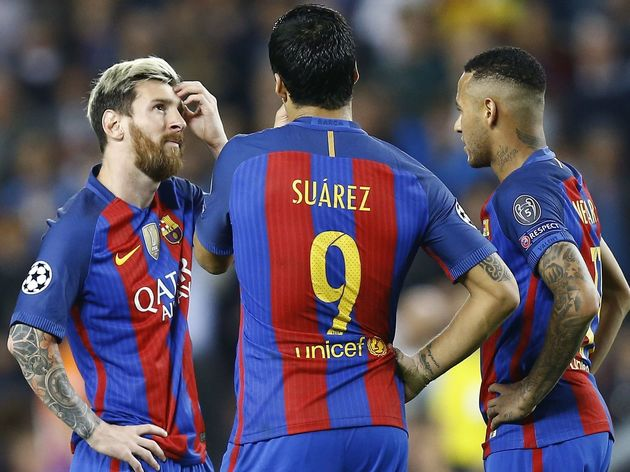 UEFA Champions League'FC Barcelona v Manchester City'
