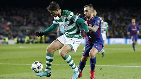 UEFA Champions League'FC Barcelona v Sporting Club de Portugal'