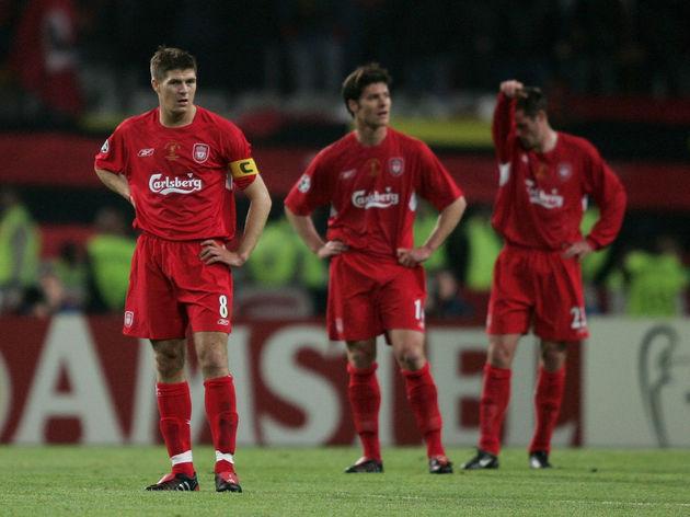 Jamie Carragher,Steven Gerrard,Xabi Alonso