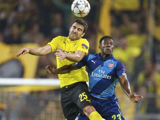 UEFA Champions League Group D - 'Borussia Dortmund v Arsenal'