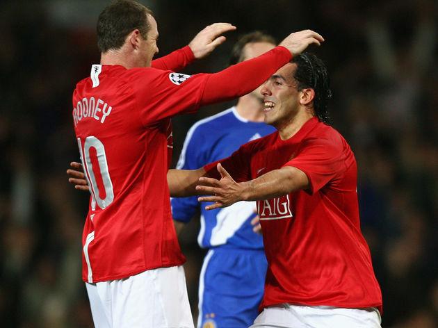 Carlos Tevez,Wayne Rooney