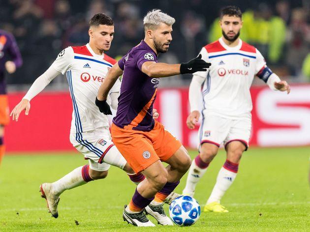 UEFA Champions League'Olympique Lyonnais v Manchester City'