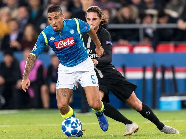 UEFA Champions League'Paris St Germain v SSC Napoli'