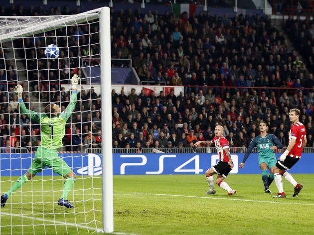 UEFA Champions League'PSV v Tottenham Hotspur FC'