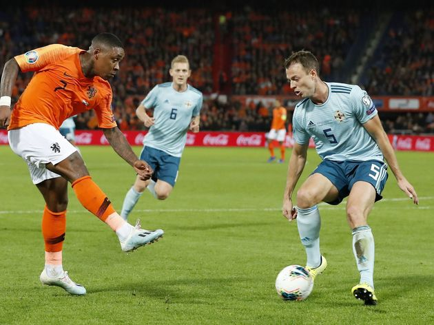 "UEFA EURO 2020 qualifier group C""The Netherlands v Northern Ireland"""