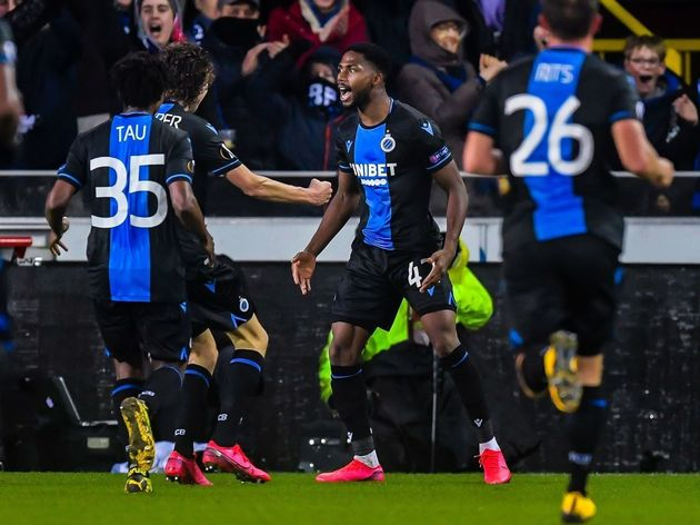 "UEFA Europa League""Club Brugge v Manchester United"""