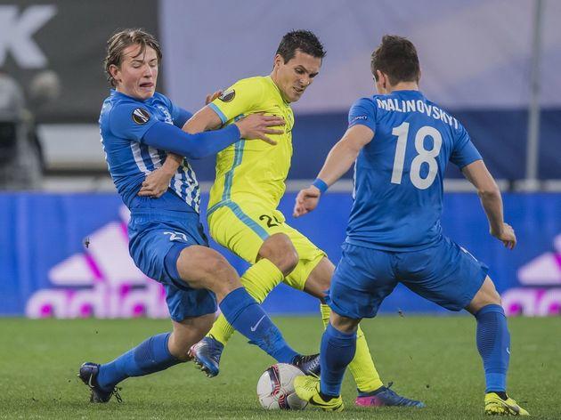"""UEFA Europa League""""KAA Gent v KRC Genk"""""""