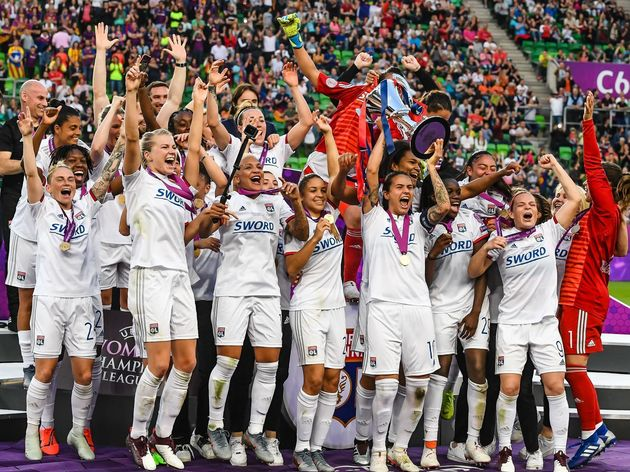 "UEFA Women's Champions League""Women: Olympique Lyonnais v FC Barcelona"""