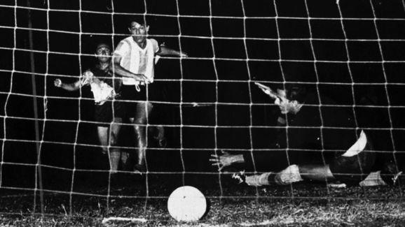 Fotografia sem data do futebol argentino