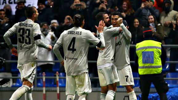 Cristiano Ronaldo,Miralem Pjanic,Federico Bernardeschi,Martin Caceres