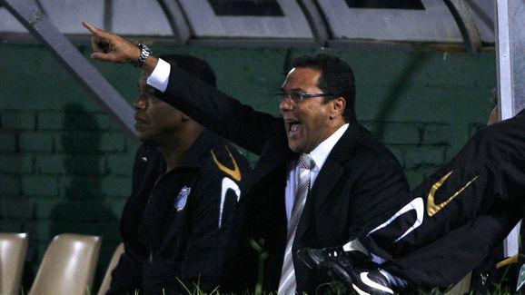 Vanderlei Luxemburgo, coach of Brazil's...
