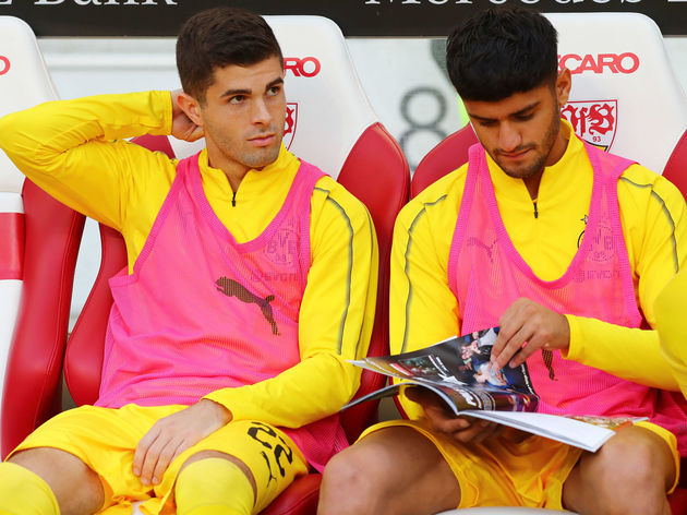 Christian Pulisic,Mahmoud Dahoud