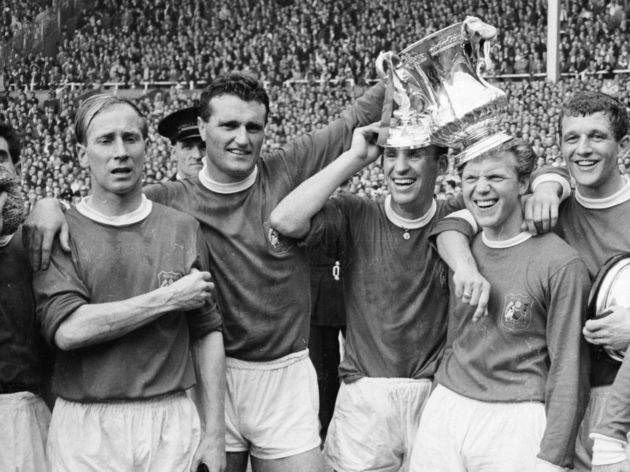 Bobby Charlton,Noel Cantwell,Pat Crerand,Albert Quixall