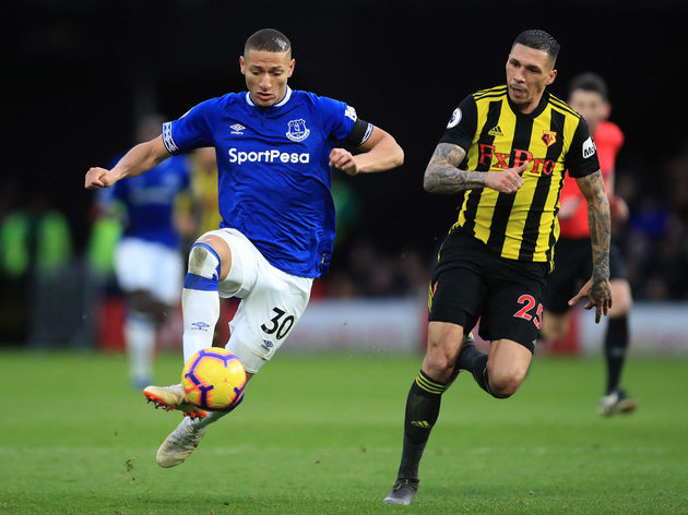 Richarlison,Jose Holebas