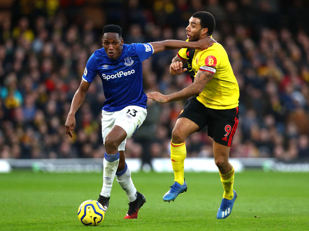 Yerry Mina,Troy Deeney