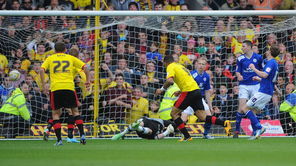 Watford v Leicester City - npower Championship Play Off Semi Final: Second Leg