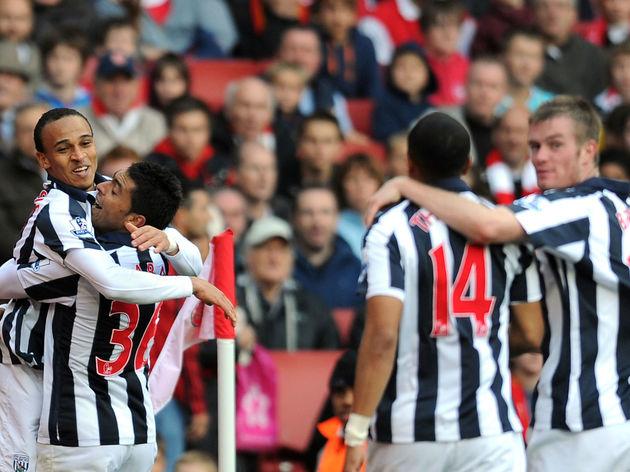 West Bromwich Albion's Nigerian striker