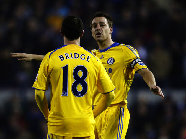 John Terry,Wayne Bridge *** Local Caption *** John Terry,Wayne Bridge