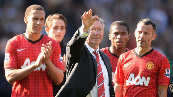 Alex Ferguson,Rio Ferdinand,Ryan Giggs