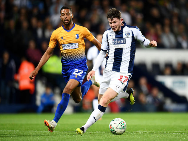 West Bromwich Albion v Mansfield Town - Carabao Cup Second Round
