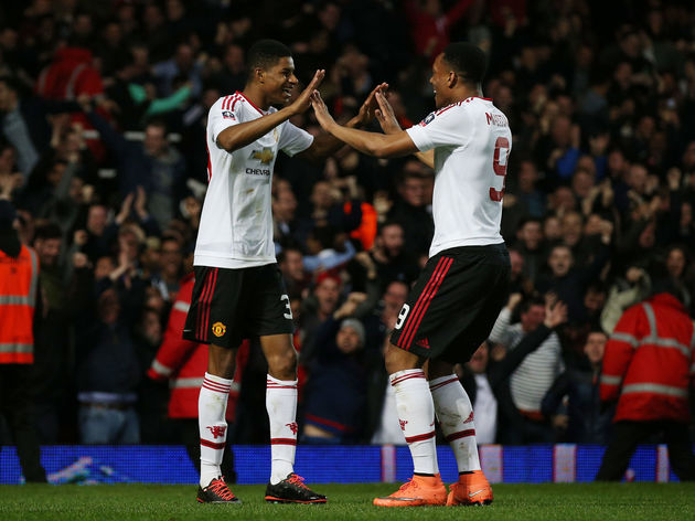 Marcus Rashford,Anthony Martial