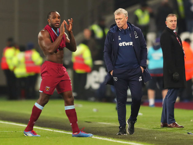 David Moyes,Michail Antonio