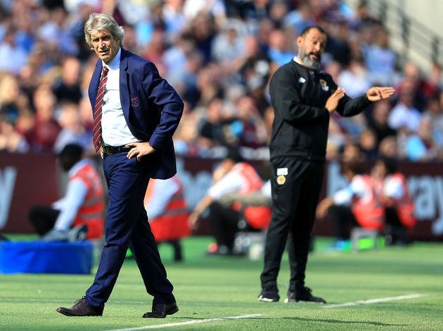 West Ham United v Wolverhampton Wanderers - Premier League