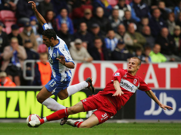 Wigan Athletic v Middlesbrough - Premier League
