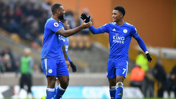 Wes Morgan,Demarai Gray