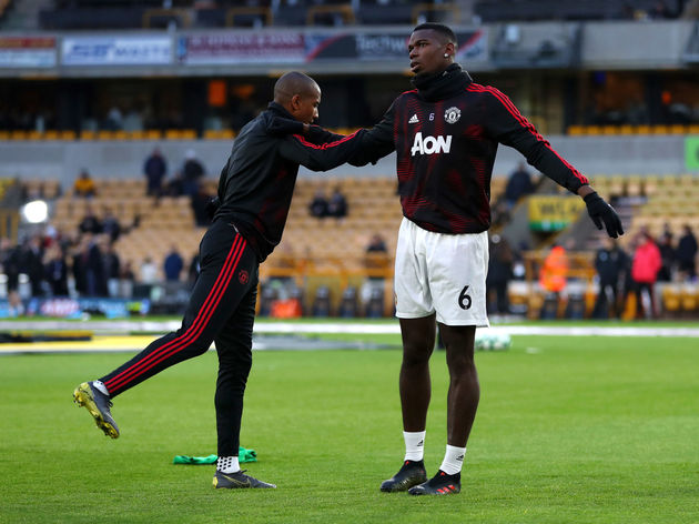 Ashley Young,Paul Pogba