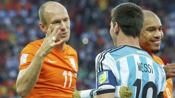 "World Cup Brazil 2014 - ""Netherlands v Argentina"""