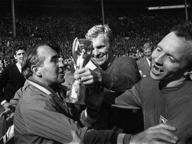 Alf Ramsey,Bobby Moore,Nobby Stiles