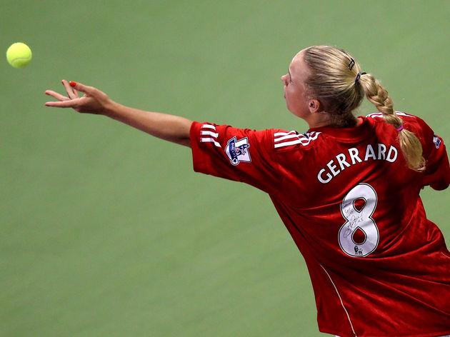 World's number one Caroline Wozniacki of