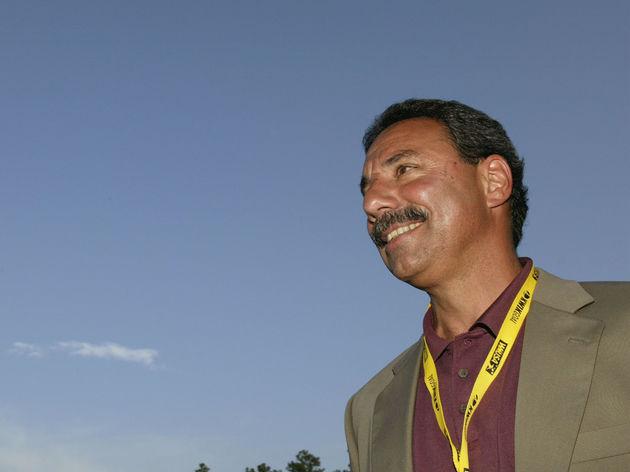 WUSA Commissioner Tony DiCicco looks on