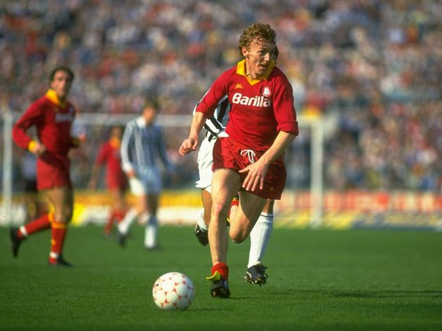 Zbigniew Boniek of Roma