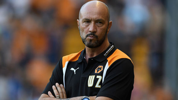 Zenga's time at Wolves didn't last long